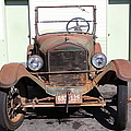 Rusty Old Ford Jalopy 5d24642 by Wingsdomain Art and Photography