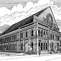 Ryman Auditorium In Nashville Tn by Janet King