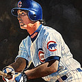 Ryne Sandberg - Chicago Cubs by Michael  Pattison