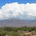 Sacramento Mountains Storm Clouds by Jack Pumphrey