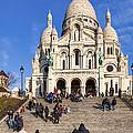 Sacre Coeur - Parisian Landmark by Mark E Tisdale