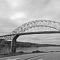 Sagamore Bridge Black and White