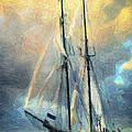 Sail Away to Avalon Print by Taylan Soyturk