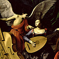 Saint Cecilia And The Angel by Carlo Saraceni