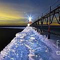 Saint Joseph Pier And Light by Twenty Two North Photography