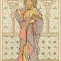 Saint Thomas Print by English School