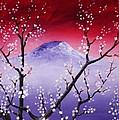 Sakura Print by Anastasiya Malakhova