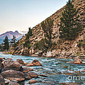 Salmon River In The Twilight by Robert Bales