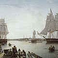 Salmon, Robert 1775-1845. Boston by Everett