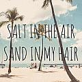 Salt In The Air Sand In My Hair by Nastasia Cook