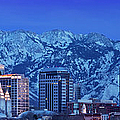 Salt Lake City Skyline by Brian Jannsen