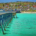 San Clemente Pier by Joan Carroll