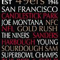San Francisco 49ers by Jaime Friedman