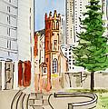 San Francisco - California Sketchbook Project by Irina Sztukowski