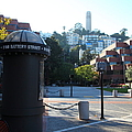 San Francisco Coit Tower At Levis Plaza 5d26213 by Wingsdomain Art and Photography