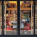 San Francisco Gumps Store Doors - 5d20585 by Wingsdomain Art and Photography