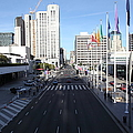 San Francisco Moscone Center And Skyline - 5d20513 by Wingsdomain Art and Photography