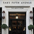 San Francisco Saks Fifth Avenue Store Doors - 5d20574 by Wingsdomain Art and Photography