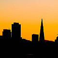 San Francisco Silhouette by Bill Gallagher