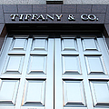 San Francisco Tiffany And Company Store Doors - 5d20562 by Wingsdomain Art and Photography