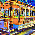 San Francisco Trams 1 by Yury Malkov