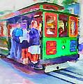 San Francisco Trams 3 by Yury Malkov