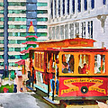 San Francisco Trams 6 by Yury Malkov
