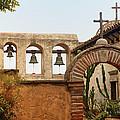 San Juan Capistrano Mission - Photography by Jo Ann Tomaselli Print by Jo Ann Tomaselli