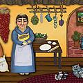 San Pascuals Kitchen 2 by Victoria De Almeida