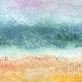 Sand And Sea by Linda Woods