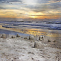 Sandcastle Sunrise by Betsy Knapp