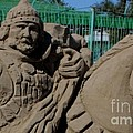 Sandy sculpture