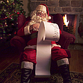Santa Checking His List by Diane Diederich