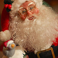 Santa Claus - Antique Ornament - 11 by Jill Reger
