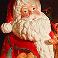 Santa Claus - Antique Ornament - 13 by Jill Reger