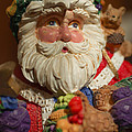 Santa Claus - Antique Ornament - 20 by Jill Reger