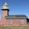 Santa Cruz Lighthouse Surfing Museum California 5d23942 by Wingsdomain Art and Photography