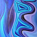 Sapphire Passion - Luminescent Light by Daina White