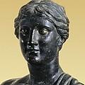 Sappho 612-545 Bc. Greek Art. Sculpture by Everett