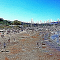 Sausalito Beach Sausalito California 5D22696 Artwork Print by Wingsdomain Art and Photography