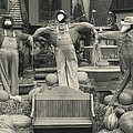 Scarecrows In Autumn Gatlinburg Tennessee by Dan Sproul