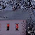 School House Sunset by Cheryl Baxter