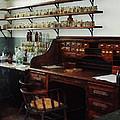 Scientist - Office In Chemistry Lab by Susan Savad