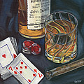 Scotch And Cigars 4 by Debbie DeWitt