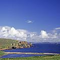 Scotland Shetland Islands Eshaness Cliffs by Anonymous