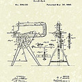 Scroll-saw 1880 Patent Art by Prior Art Design