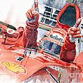 Scuderia Ferrari Marlboro F 2001 Ferrari 050 M Schumacher  by Yuriy  Shevchuk