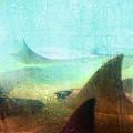 Sea Spirits - Manta Ray Art By Sharon Cummings by Sharon Cummings