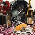 Seafood Serenade 1996  Skewed Perspective Series 1991 - 2000 by Larry Preston