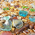 Seaglass Coastal Beach Rock Garden Agates by Baslee Troutman